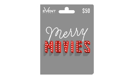 Merry Movies $50 Gift Card