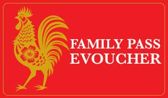 Chinese New Year - Family Pass eVoucher