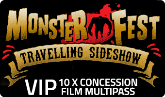 MONSTER FEST VIP - 10 x Concession Multipass