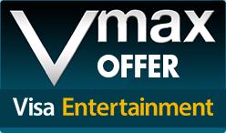 Visa Entertainment Vmax Wednesdays Offer