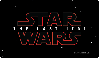 """Star Wars: The Last Jedi"" Movie Gift Card"