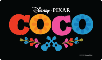 "Disney•Pixar's ""COCO"" Movie Gift Card"