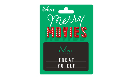 Christmas Movie Gift Card Green