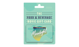 Moonlight Food & Beverage Gift Card
