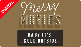 Christmas Movie eGift Card Gold