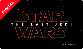 """Star Wars: The Last Jedi"" Movie eGift Card"