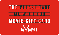 'Please Take Me With You' Gift Card