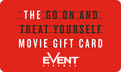 'Go On And Treat Yourself' Gift Card