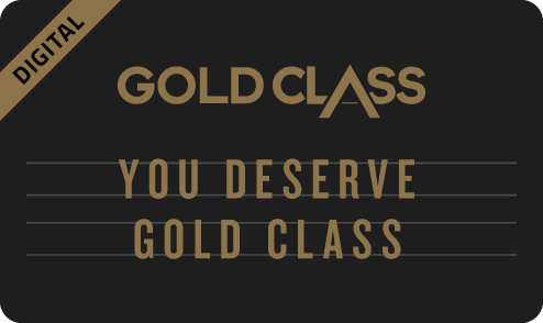 'You Deserve Gold Class' eGift Card