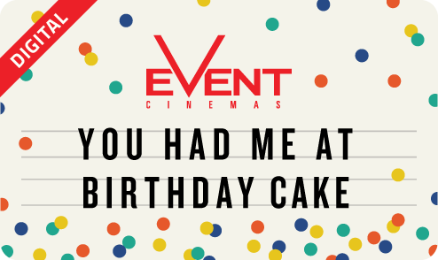 'You Had Me At Birthday Cake' eGift Card