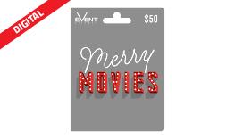 Merry Movies $50 eGift Card