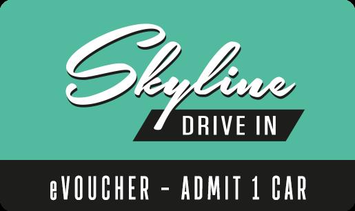 Movie eVoucher Skyline Drive In 1x Car