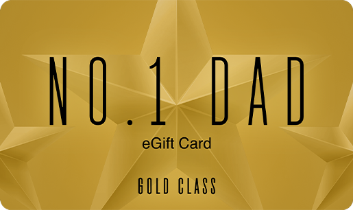 Father's Day Gold Class Best Dad eGift Card