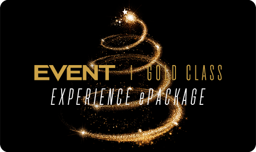 Christmas Gold Class Experience ePackage