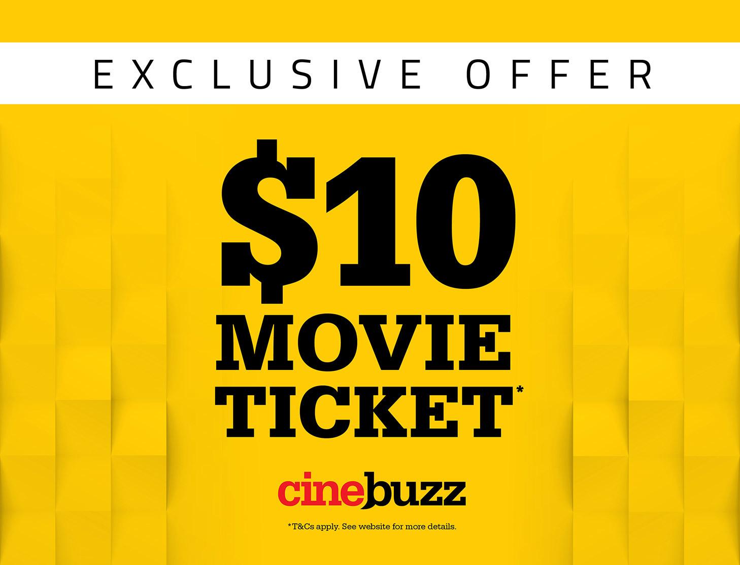 Exclusive Cinebuzz Promotion - Event Cinemas